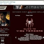 AIM Pages: Spiderman 3 Network
