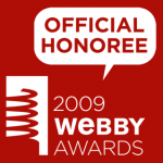 2009 Webby Awards Official Honoree
