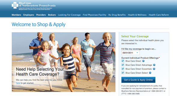 Benefitfocus Shop & Apply